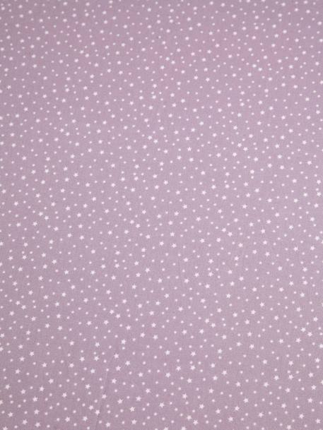 Children's Fitted Sheet, Tiny Fairy Theme PURPLE MEDIUM ALL OVER PRINTED - vertbaudet enfant