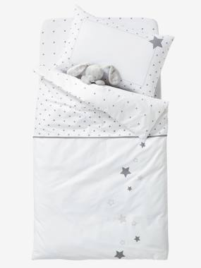Bedding & Decor-Baby Duvet Colour, Star Shower Theme