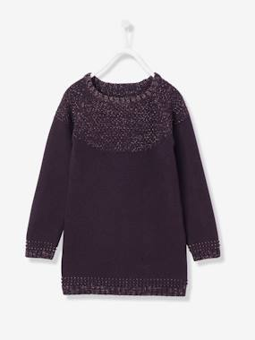 Girl-Dress-Girls' Stylish Jumper Dress