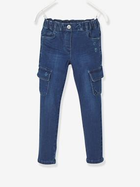 Girls-Jeans-WIDE Fit - Girls' Slim Trousers