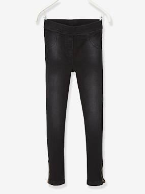 The Adaptables Trousers-MEDIUM Fit - Girls' Stretch Denim Treggings