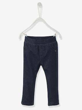 Vertbaudet - Trousers girls boys and babys-Baby Girls' Treggings