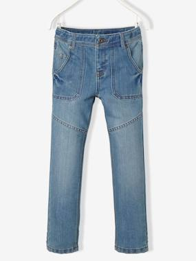 Boys-Jeans-WIDE Fit - Boys' Straight Cut Trousers