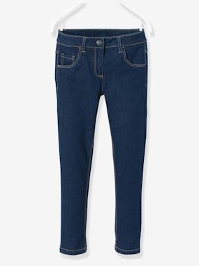 Trousers-Girls-Girls' Slim-Fit Jeans