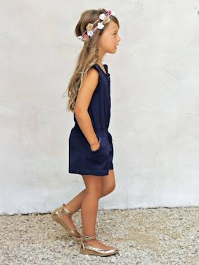 Mid season sale-Girls' Playsuit with Sequins
