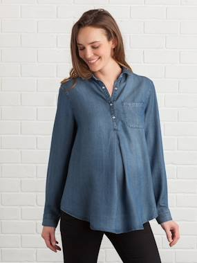 shirt-Lyocell Maternity Shirt