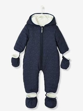 Coat & Jacket-Baby Star-Padded Jumpsuit