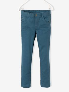 Boys-WIDE Fit - Boys' Slim Cut Trousers