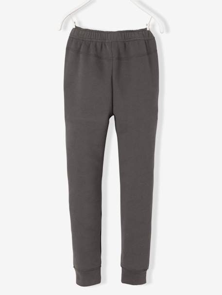 Boys' Fleece Trousers BLUE DARK SOLID+GREY DARK SOLID - vertbaudet enfant