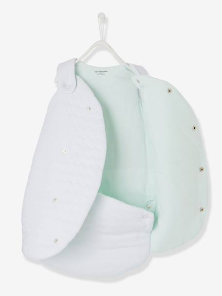 Premature Baby Sleep Bag, Bio Collection White - vertbaudet enfant