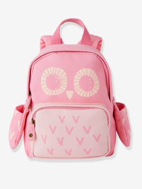 Girls-Accessories-Bags-Girls' Backpack, Owls Motif