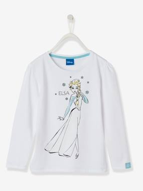 Girls-Tops-T-Shirts-Girls' Long-Sleeved T-Shirt, Frozen® Theme