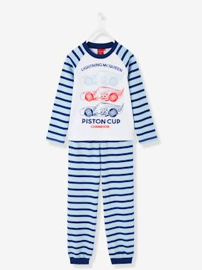 Boys-Nightwear-Boys' Striped Long-Sleeved Pyjamas, Cars® Theme