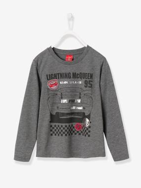 Boys-Tops-Boy's Long-Sleeved T-Shirt with Patches, Cars® Theme