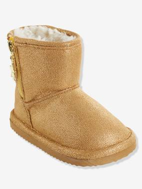 Shoes-Baby Footwear-Baby Girl Walking-Girls' Boots with Fur