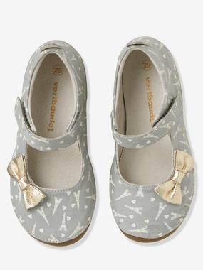 Vertbaudet Collection-Girls' Shoes with Glow-in-the-Dark Print