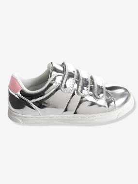 Shoes-Girls' Stylish Trainers with Touch 'n' Close Tabs