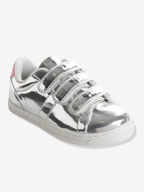 Shoes-Girls Footwear-Trainers-Girls' Stylish Trainers with Touch 'n' Close Tabs