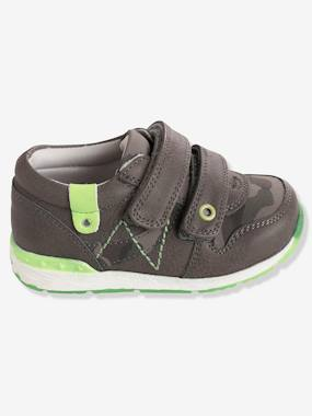 Shoes-Baby Footwear-Boys' Trainers with Fluorescent Detail