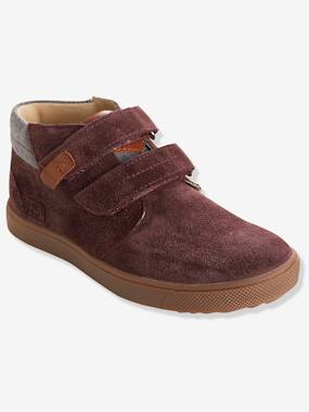 Shoes-Boys Footwear-Shoes-Boys' Leather Boots with Touch 'n' Close Tabs