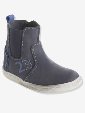 Shoes-Boys Footwear-Shoes-Boys' Leather Boots, Designed for Autonomy