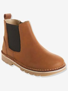 Vertbaudet Sale-Shoes-Boys Footwear-Boys' Leather Boots