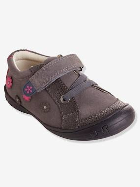 Baskets-Chaussures basses cuir fille collection maternelle