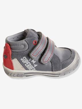 Shoes-Baby Footwear-Boys' Leather Boots with Touch 'n' Close Fastening