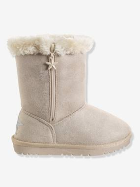 Shoes-Girls Footwear 23-38-High Boots-Girls' Boots with Fur