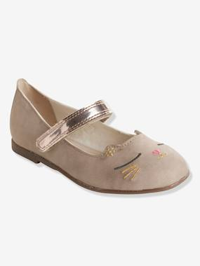 Megashop-Shoes-Girls Footwear-Ballerinas with Touch 'n' Close Fastening