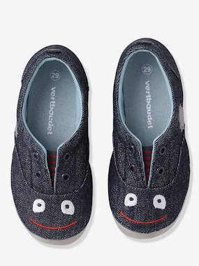 Vertbaudet Sale-Shoes-Boys' Denim Slippers