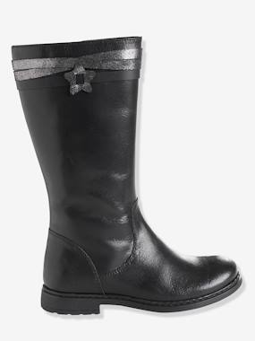 Shoes-Girls' Riding-Style Boots