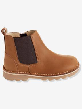 Shoes-Boy shoes 23-38-Boys' Leather Boots
