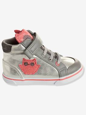 Shoes-Girls' High-Top Trainers, Autonomy Collection