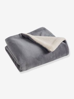 household linen-Microfibre Blanket with Sheepskin Lining