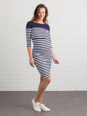 Maternity-Dresses-Maternity & Nursing Tube Dress