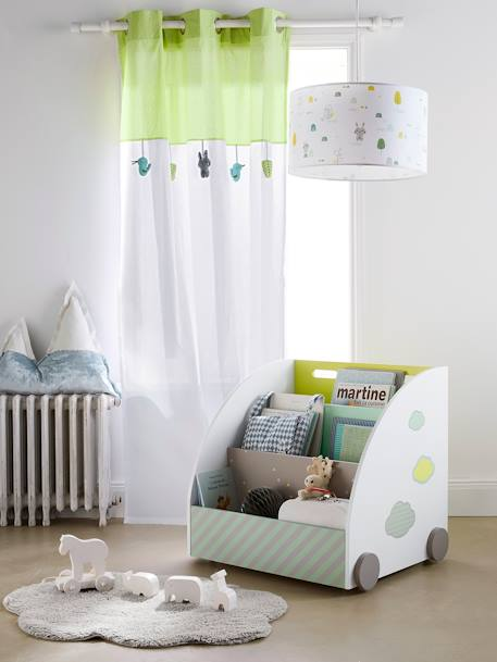 Ceiling Lampshade White/multicolour - vertbaudet enfant