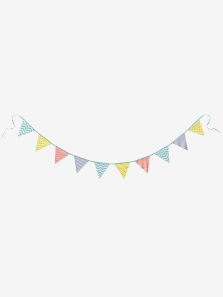 bunting garland muticolour decoration