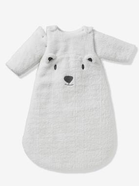 household linen-Sleep Bag with Removable Sleeves, Bear Theme