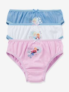 Tous mes heros-Lot de 3 culottes fille Reine des neiges® assorties