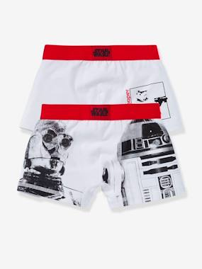Boys-Underwear-Boys' Pack of 2 Assorted Star Wars® Boxer Shorts