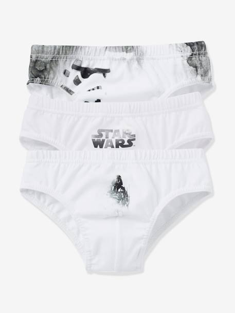 Lot de 3 slips garçon Star Wars® assortis Assortis - vertbaudet enfant