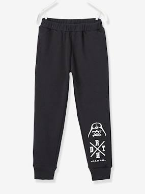 Vertbaudet - Trousers girls boys and babys-Boys-Boys' Fleece Joggers, Star Wars® Theme
