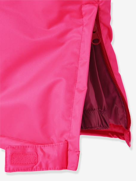 Girls' Ski Trousers PINK BRIGHT SOLID - vertbaudet enfant
