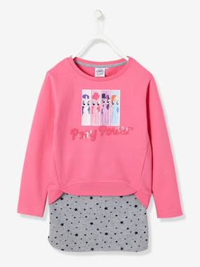 Girls-Skirts-Girls' Fleece Sweatshirt & Skirt, My Little Pony® Theme