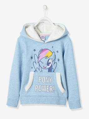 Vertbaudet - Pull Gilet Sweat pour enfant et bébé-Sweat-shirt fille My little Pony® à paillettes
