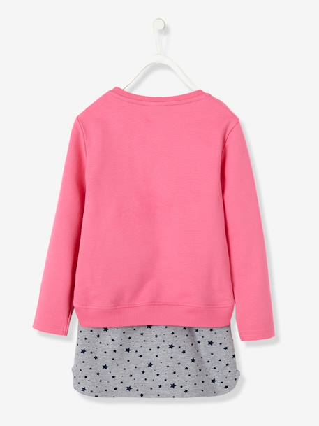 Ensemble sweat + jupe fille My little pony® en molleton Rose - vertbaudet enfant
