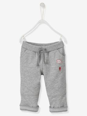 Vertbaudet - Trousers girls boys and babys-Baby Boys' Fleece Trousers