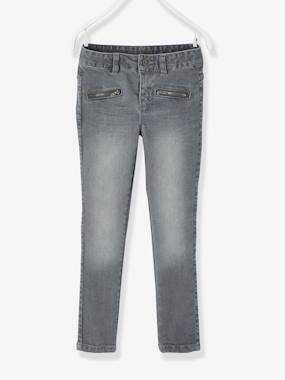 Girls-Jeans-WIDE Fit - Girls' Skinny Denim Trousers