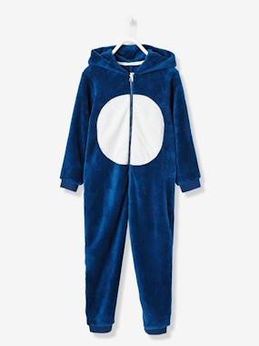 pyjama-Boys' Plush Knit Onesie